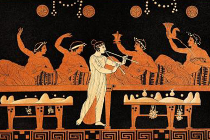 A Valentine's Day Drinking Party to Honour the Spirit of Love – Come Celebrate by reading Plato's Symposium