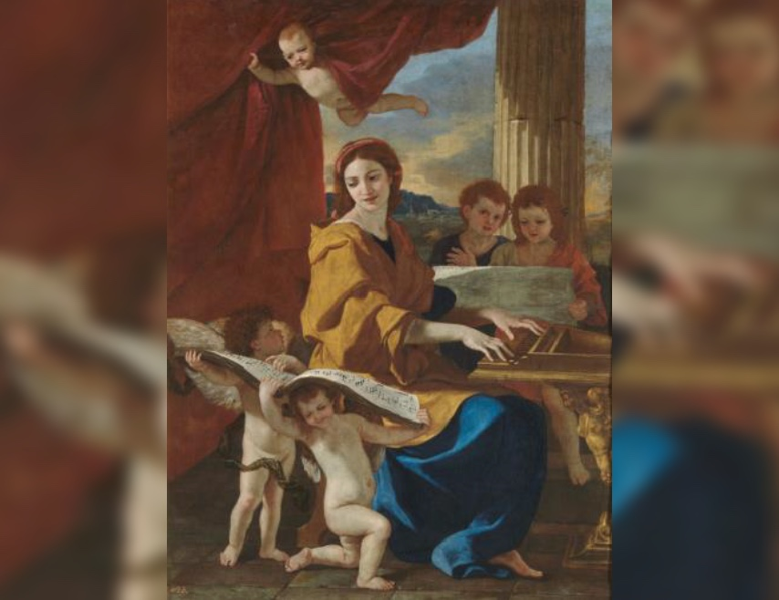 Saint Cecilia – from Roman Martyr to patron Saint of Music with Andrew Baker